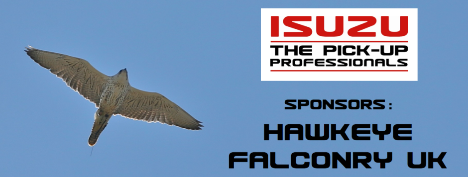 Isuzu Sponsors Hawkeye Falconry UK