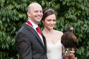 Falconry Wedding Photographs